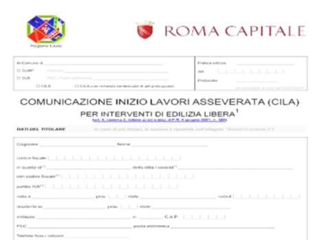 regolarita urbanistica roma